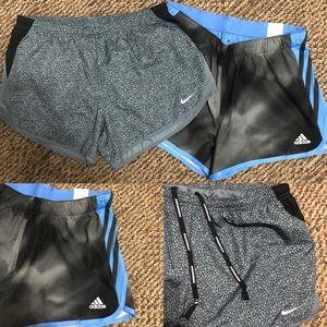 BRAND NEW Nike & Adidas Running Shorts